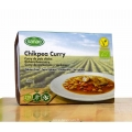 Curry de pois chiche vegan, Menu Sanae