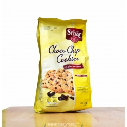 Biscuits Choco chips cookies, Schar
